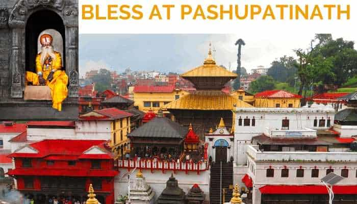 Bless at Pashupatinath