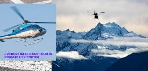 Everest Base Camp Tour in Private Helicopter
