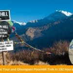 Everest tour and Ghorepani PoonHill Trek